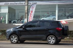 Ford Ecosport Suv-auto voor Stedelijke Gebruiker Royalty-vrije Stock Afbeeldingen