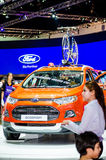 FORD Ecosport in Thailand motor show. Royalty Free Stock Images