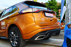 Ford Edge 2016 Sport rear at the Transylvania Rally Stock Images