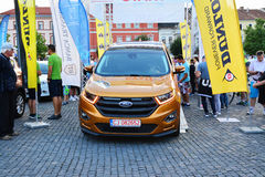 Ford Edge 2016 Sport stays at the start line Royalty Free Stock Images