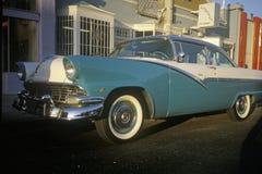 1955 Ford en Hollywood, California Imagen de archivo