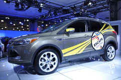 Ford Escape. NEW YORK - APRIL 11: Ford Escape at the 2012 New York International Auto Show running from April 6-15, 2012 in New York, NY stock photography