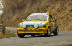 Ford Escors xr3i rally Stock Photos