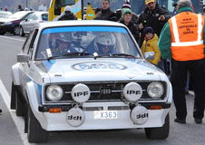 Ford Escort MK2 Royalty Free Stock Images