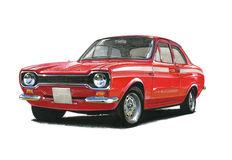 Ford Escort MkI Mexico Royalty Free Stock Images