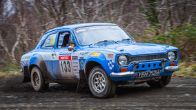 Ford Escort MKI rally car Stock Photo