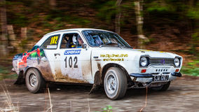 Ford Escort MKI rally car Stock Images