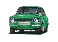 Ford Escort MkI RS2000 Royalty Free Stock Photos