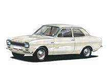 Ford Escort MkI tvilling- kam Royaltyfria Foton
