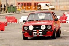 Ford Escort MkII durante la reunión Verde Pino 2012 imagen de archivo libre de regalías