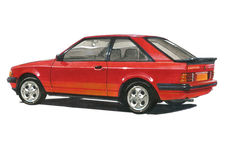 Ford Escort MkIII XR3 Royalty Free Stock Photos