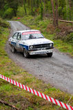 Ford Escort rally Royalty Free Stock Image