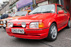 Ford Escort RS Turbo Royalty Free Stock Photo