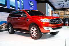 Ford Everest 4WD on display Stock Photo