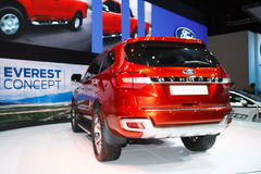 Ford Everest 4WD on display Royalty Free Stock Images