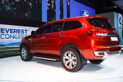 Ford Everest 4WD on display Stock Images