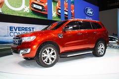 Ford Everest 4WD su esposizione Fotografie Stock Libere da Diritti