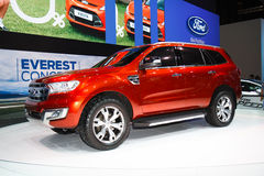 Ford Everest 4WD sur l'affichage Photos libres de droits