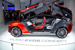 Ford EVOS concept car. Stock Image