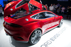 FORD EVOS Concept Car on IAA 2011 Royalty Free Stock Images
