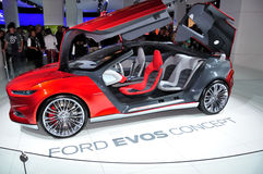 Ford Evos Concept on IAA Frankfurt 2011 Royalty Free Stock Photo