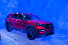 Ford Explorer 2020 immagini stock