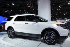 Ford Explorer Royalty Free Stock Images