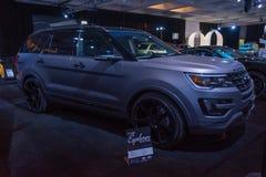 Ford Explorer Matte 2 Tone Stock Images
