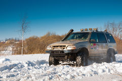 Ford Explorer suv Stock Photo