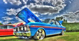 Ford för klassisk 70-talaustralier motorisk bil Royaltyfri Fotografi