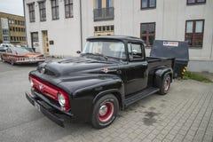 1953 Ford-F100 bestelwagen Royalty-vrije Stock Afbeelding