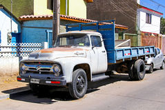 Ford F600 stock images