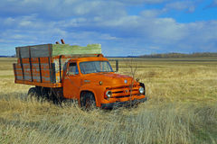Ford F600 Farm Truck - Wooden Box Stock Images