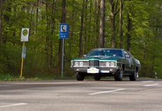 1972 Ford F73 Galaxie στο ADAC Wurttemberg ιστορικό Rallye 20 Στοκ εικόνες με δικαίωμα ελεύθερης χρήσης