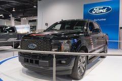 Ford F-150 op vertoning Stock Afbeeldingen