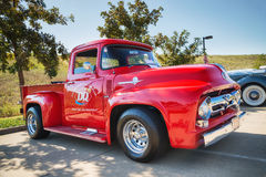 1956 Ford F-100 Pickup truck Royalty Free Stock Images