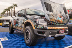Ford F-150 Raptor at SEMA. Royalty Free Stock Photography
