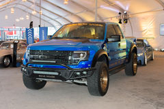 Ford F-150 SVT Raptor on dlisplay Royalty Free Stock Photo