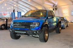 Ford F-150 SVT Raptor on dlisplay Royalty Free Stock Photo