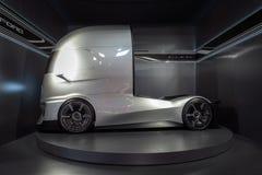 Ford-F-Visions-Zukunft-LKW, elektrisch und autonom stockfoto