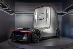 Ford-F-Visions-Zukunft-LKW, elektrisch und autonom stockfotos