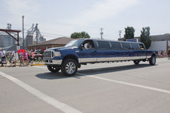 Ford F350 Stretch Limo at Parade Royalty Free Stock Image