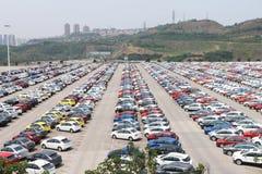 Ford-fabriek Royalty-vrije Stock Fotografie
