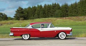 FORD FAIRLANE 500 Stock Afbeelding