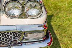 1958 Ford Fairlane. At a classic car show Stock Photography