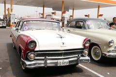 Ford Fairlane Crown Victoria Coupe in Lima Royalty-vrije Stock Fotografie