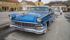 1956 ford fairlane crown victoria Stock Image