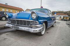 1956 ford fairlane crown victoria Royalty Free Stock Images