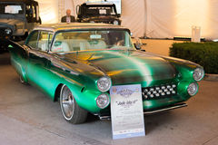 Ford Fairlane 1957 on display Stock Image