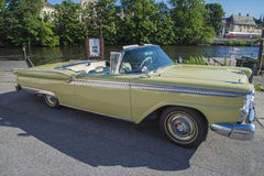 1959 Ford Fairlane 2 Door Convertible Royalty Free Stock Image